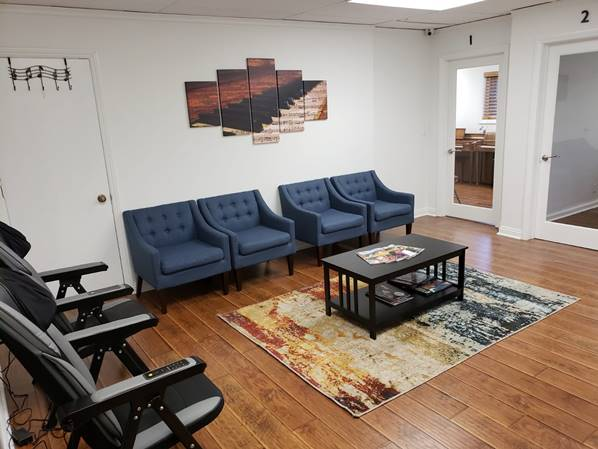 MULTIPLE WAITING AREAS TO KEEP OUR VALUED CLIENTS COMFORTABLE!